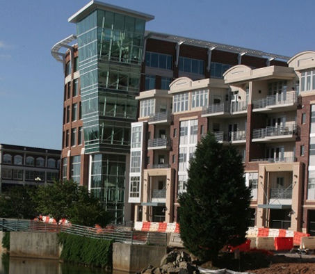 Riverwalk at riverplace greenville sc site design inc for Architects greenville sc